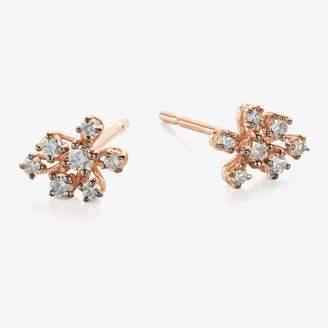 Suzanne Kalan Starburst Diamond Stud Earring