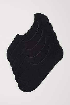 H&M 5-pack Liner Socks - Black