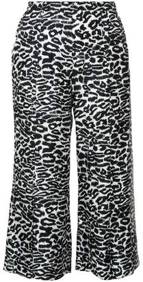 Piamita leopard print cropped pants