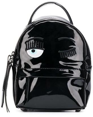 Chiara Ferragni Flirting embroidery backpack