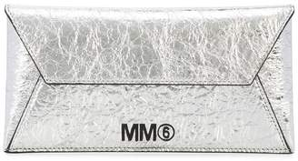 MM6 MAISON MARGIELA crinkled envelope pouch