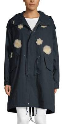 Tulle Floral Anorak Jacket