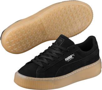 Suede Platform Jewel JR Sneakers