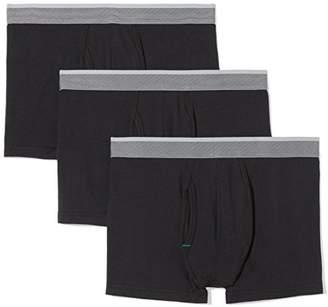 Amazon Essentials Men's 3-Pack Performance Cotton Stretch Trunk