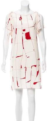 Krizia Silk Printed Dress
