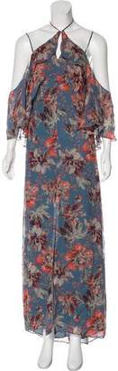 Intermix Floral Silk Dress w/ Tags