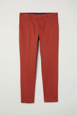 H&M Suit Pants Skinny fit - Orange