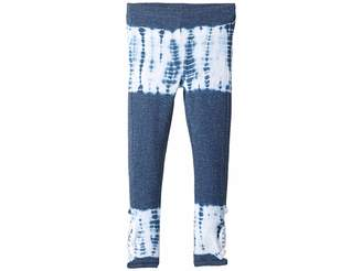 Chaser Kids Extra Soft Love Knit Strappy Side Detail Leggings (Toddler/Little Kids)