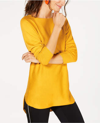 INC International Concepts I.n.c. Shirttail Sweater
