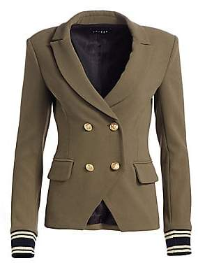 Scripted Scripted Women's Double Breasted Blazer