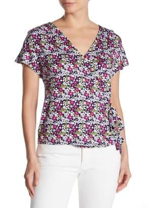 14th & Union Shirred Wrap T-Shirt (Regular & Petite)