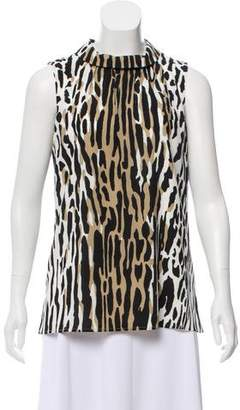 Couture St. John Silk Sleeveless Top