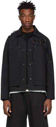 Craig Green Black Laced Worker Jacket