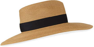 Eric Javits Daphne Woven Boater Hat