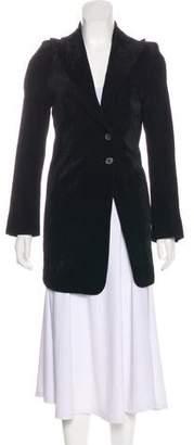 Ann Demeulemeester Corduroy Short Coat