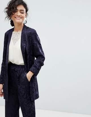 Asos Design Soft Jacquard Blazer
