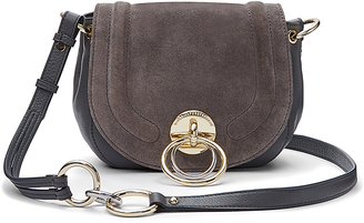 Love Power Suede Saddle Bag $298 thestylecure.com