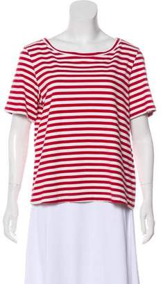Adriano Goldschmied Striped Short Sleeve T-Shirt