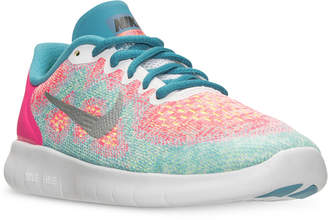 Nike Little Girls' Free Run 2 Running Sneakers from Finish Line $64.99 thestylecure.com
