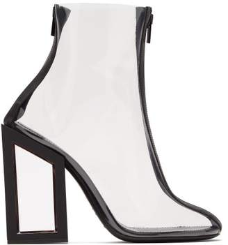 Nicholas Kirkwood Void Pvc Ankle Boots - Womens - Black