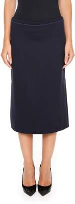 Marni Sanded Crepe Skirt