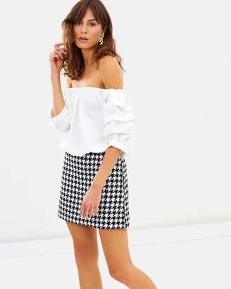 Claudia Ruffle Sleeve Top