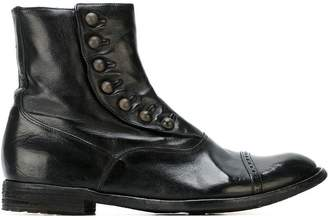 Officine Creative buttoned ankle boots