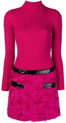 Moschino knitted two piece dress