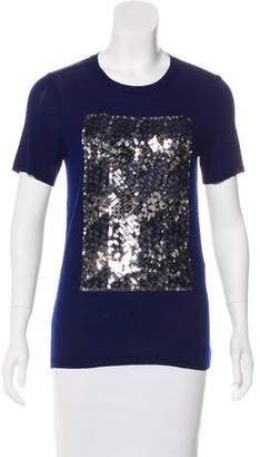 Christian Dior Sequined Knit Top