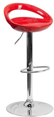 Wade Logan Carle Adjustable Height Swivel Bar Stool Seat
