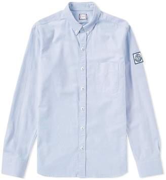 Moncler Gamme Bleu Classic Pop Stud Oxford Shirt