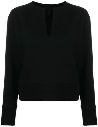 Unravel Project V-neck sweatshirt