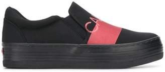 Calvin Klein Jeans block stripe sneakers
