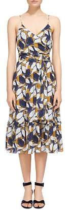 Whistles Lemon Print Sun Dress