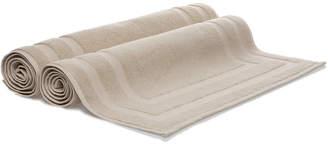 Frette Lanes Set Of 2 Cotton Bath Mats