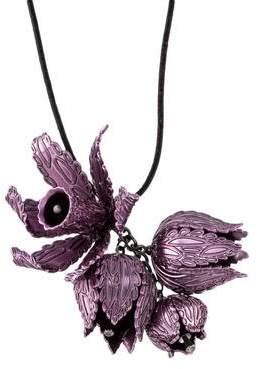 Burberry Flower Pendant Necklace