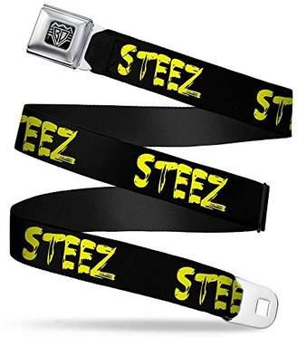 Buckle-Down Unisex-Adults Seatbelt Belt Steez Quote Regular