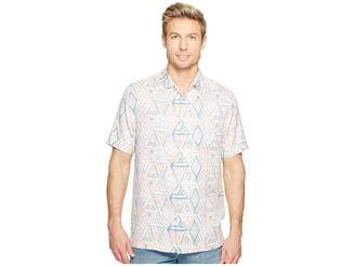 Tommy Bahama Trio Geo Camp Shirt Men's Clothing