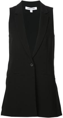 Elizabeth And James single button waistcoat $445 thestylecure.com