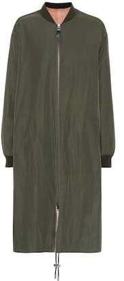 Yves Salomon Army Reversible fur and cotton coat