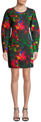 Love Moschino Print Shift Dress