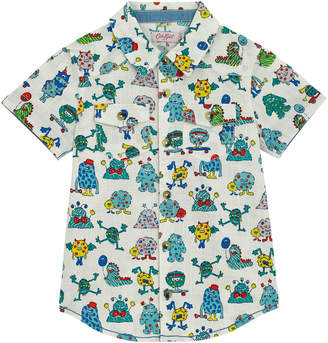 Cath Kidston Monsters Kids Short Sleeve Shirt