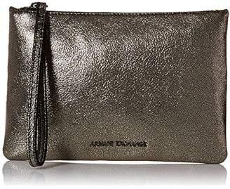 Armani Exchange A|X Small Metallic Pouch