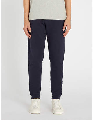 Sunspel Tapered cotton-jersey jogging bottoms
