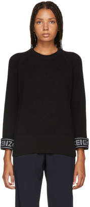Kenzo Black Sport Comfort Sweater