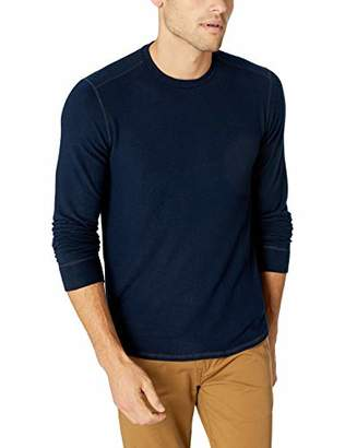 Velvet by Graham & Spencer Men's Bronson Heather Jersey Knit Long Sleeve Shirt