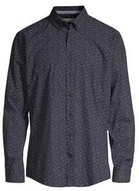 Bugatti Floral Button-Down Shirt