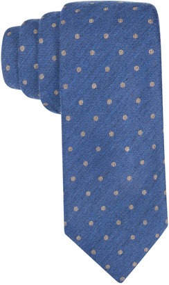 Tasso Elba Men's Seasonal Dot Tie, Only at Macy's $59.50 thestylecure.com