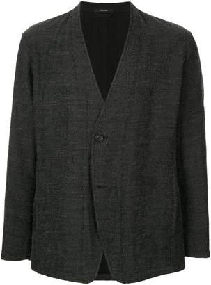 Issey Miyake no lapel reversible blazer