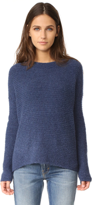 Vince Oversized Crew Sweater $445 thestylecure.com